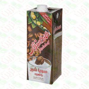 شیرسویا قهوه مانداسوی