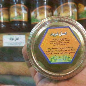 عسل شوید ارگانیک ترین آمل مازندران